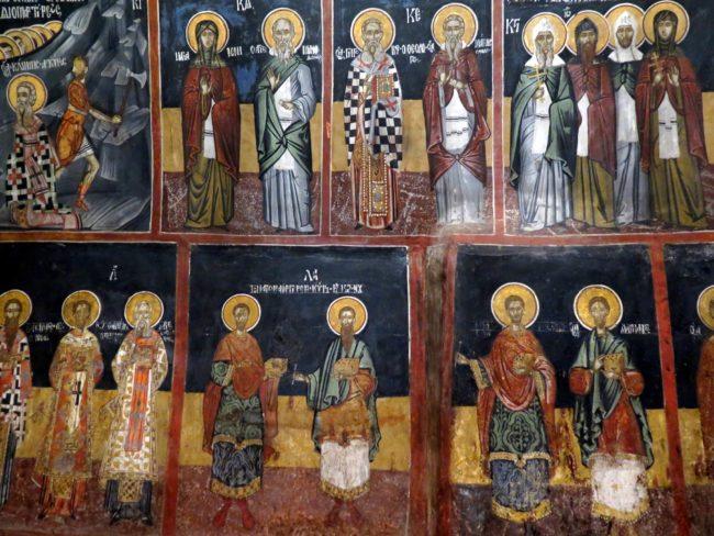 Los mejores murales de la Iglesia de la Natividad de Arbanasi