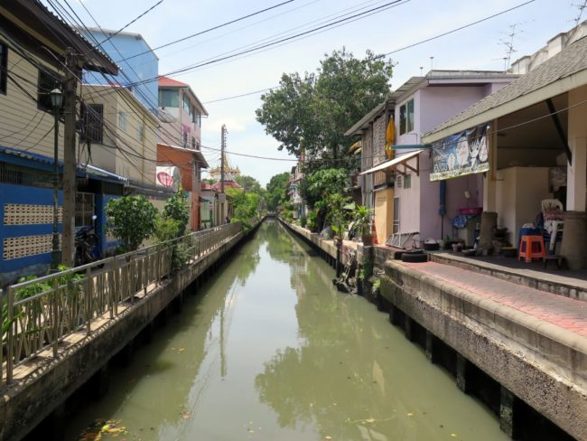 Los barrios de los canales de Bangkok