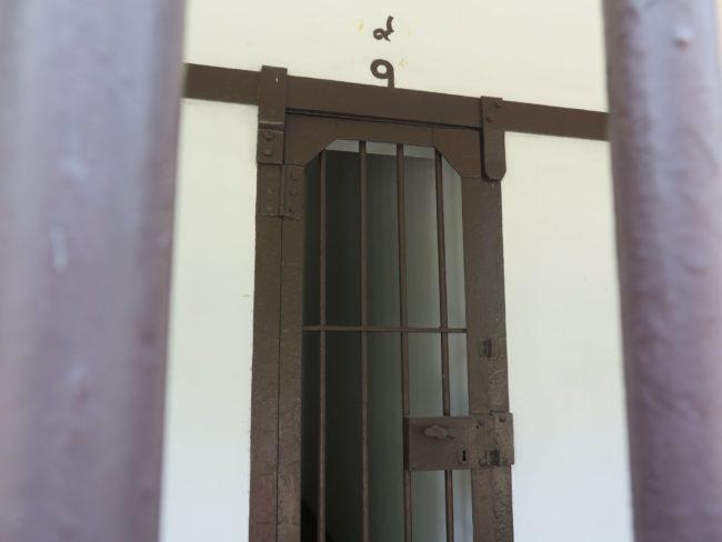 Lo que queda del Museo del Correccional en el Parque Rommaninat