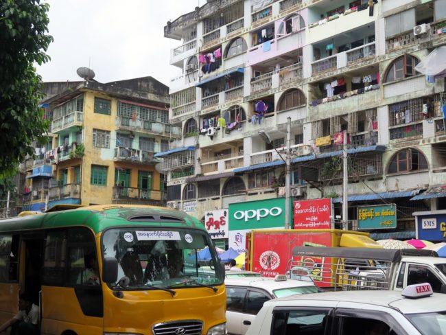 Autobuses de Yangón