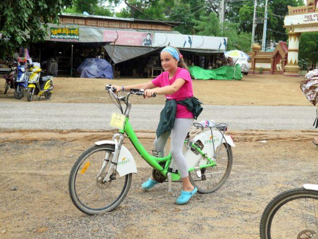 Alquiler de bicicletas en Bagan