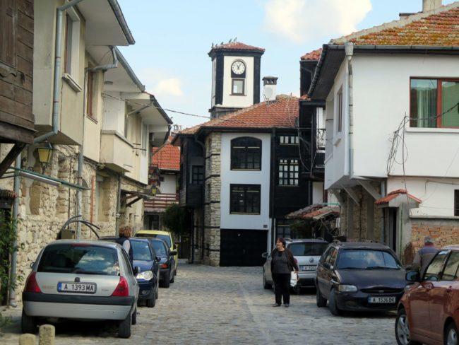 Típicas calles de Nesebar