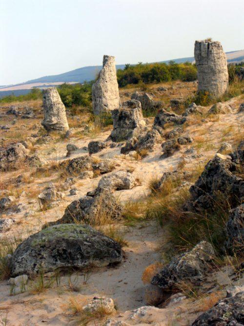 Las formaciones rocosas de Pobiti Kamani