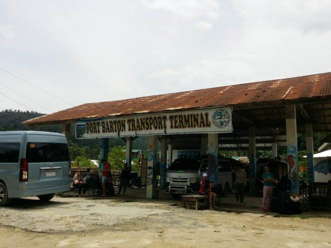 Terminal de autobuses Port Barton