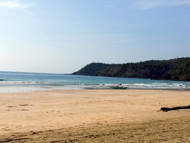 Nagtabon Beach, cercana a Puerto Princesa