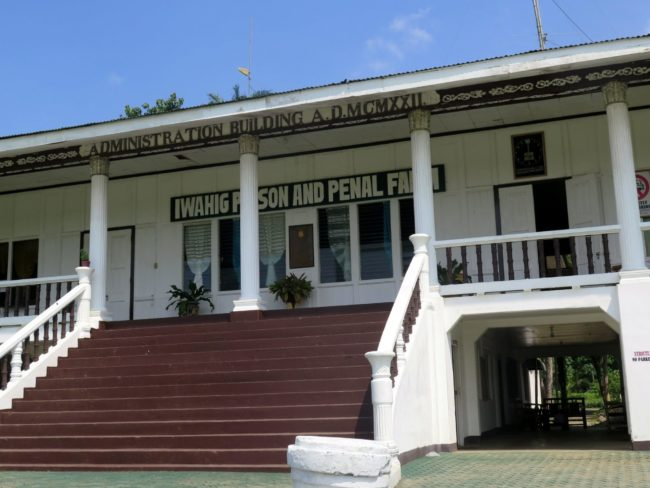 Visitar una cárcel en la Isla de Palawan