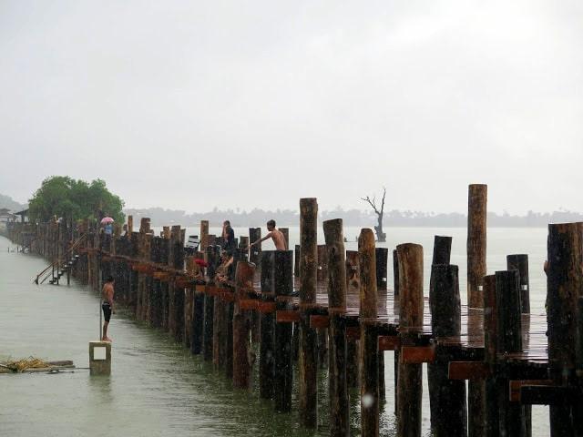 El bello puente de Amarapura