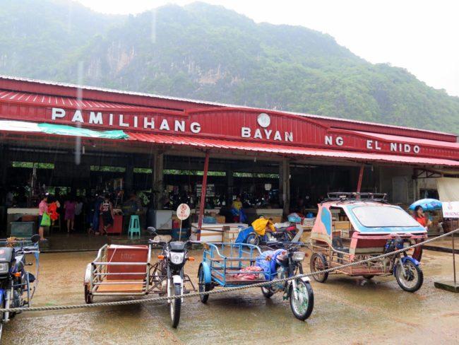 Visitar el Mercado de El Nido