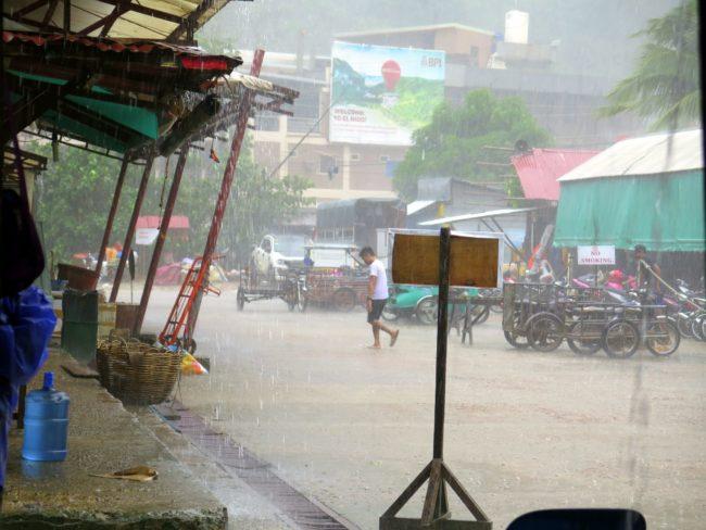 Tormenta Tropical Filipinas