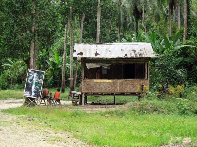Donación para acceder a las Cascadas Pamuayan