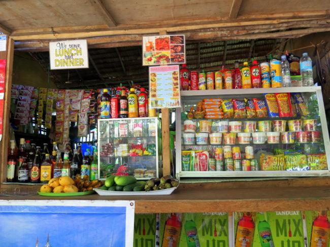 Comer en Nagtabon Beach