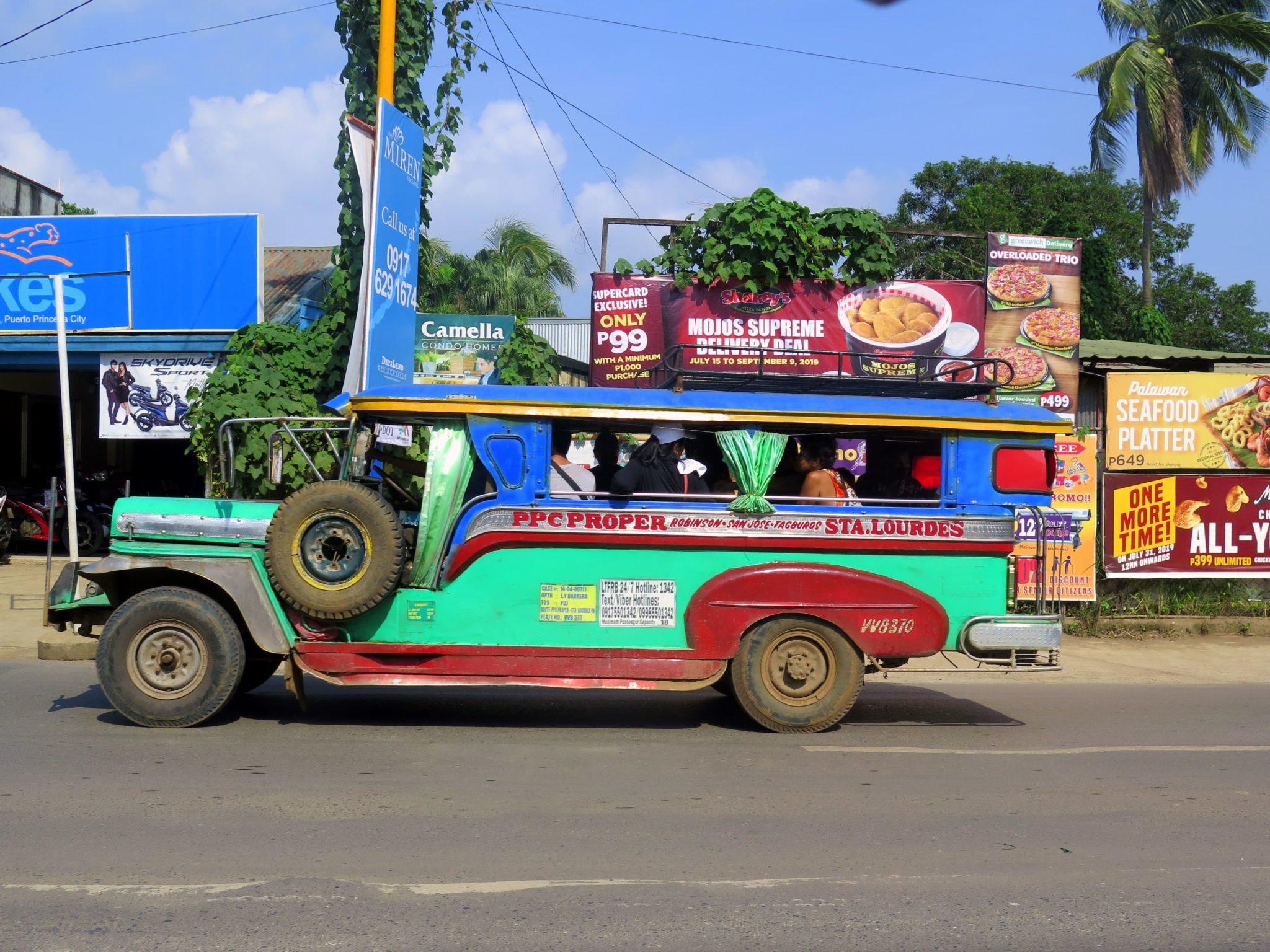 Cómo moverse en Puerto Princesa