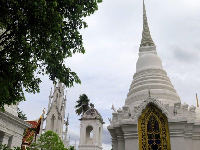 El increíble cementerio Real de Bangkok