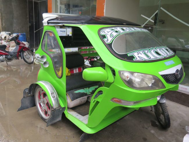Tricicle en Filipinas