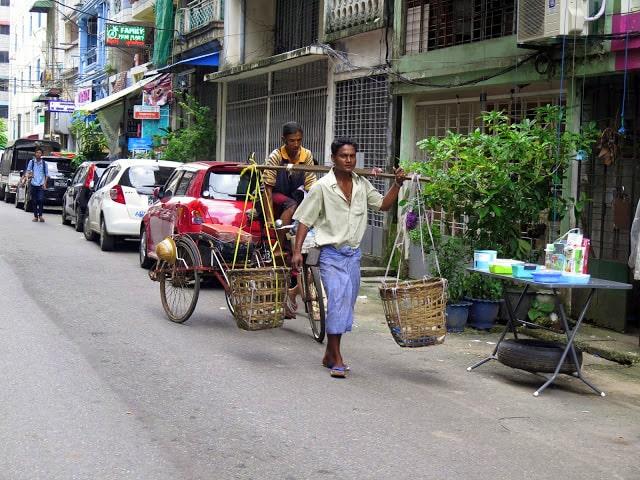 Atuendo de los hombres birmanos