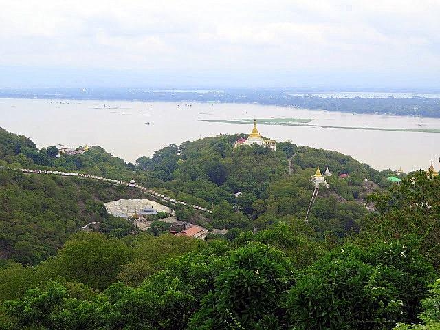 Panorámica desde la Colina de Sagaing