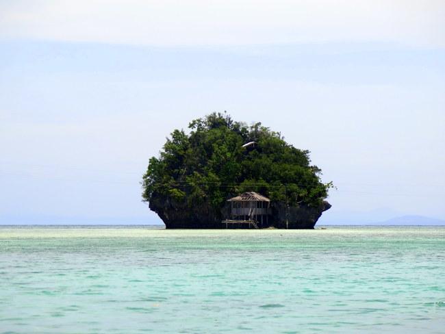 Islas habitadas en los manglares de Caob