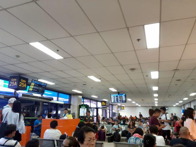 Traslados en avión por Filipinas