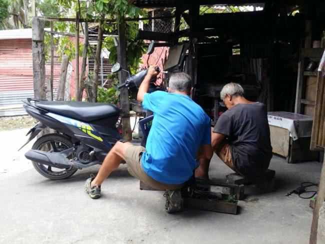 Precio del alquiler de motos en Filipinas
