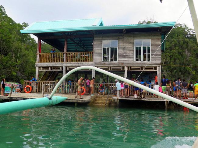 Atracciones en Sugba Lagoon