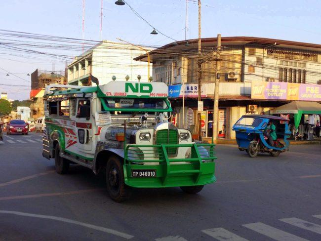Cuánto cuesta subir en Jeepney
