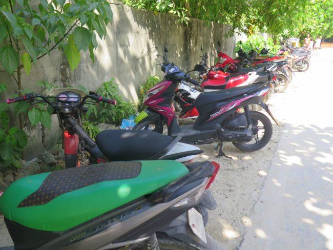 Alquilar una moto en Filipinas