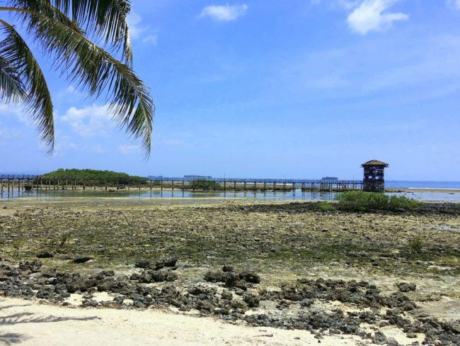 Playa en General Luna