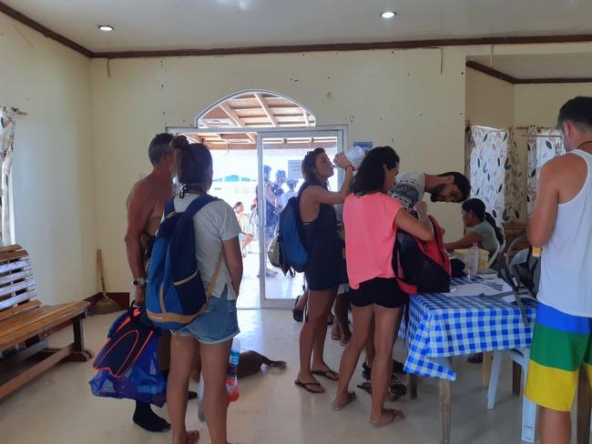 Oficina de tickets Island Hopping Siargao