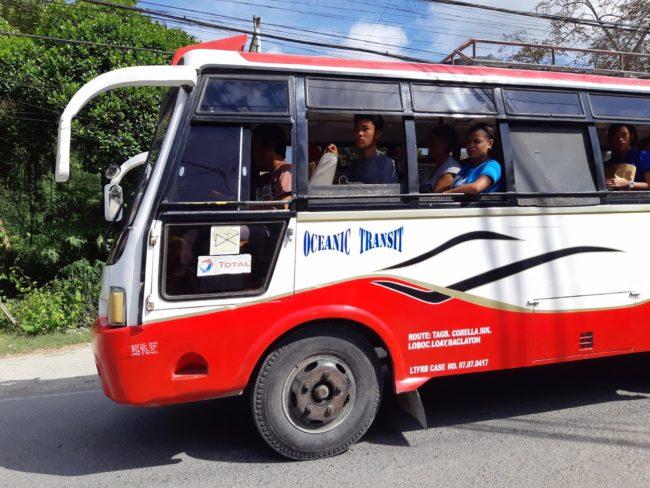 Los medios de transporte más comunes en Filipinas