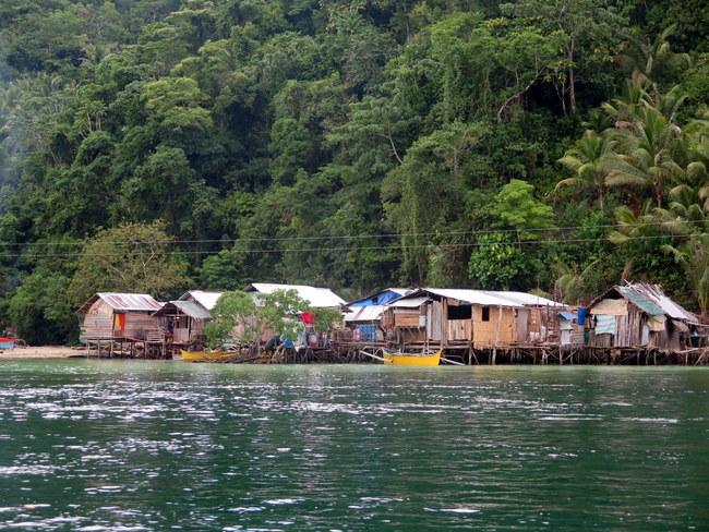 Pueblos flotantes Filipinas
