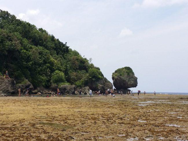 Reconocible paisaje de Magpupungko