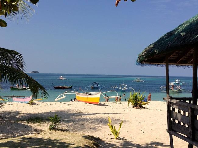 Típica playa filipina