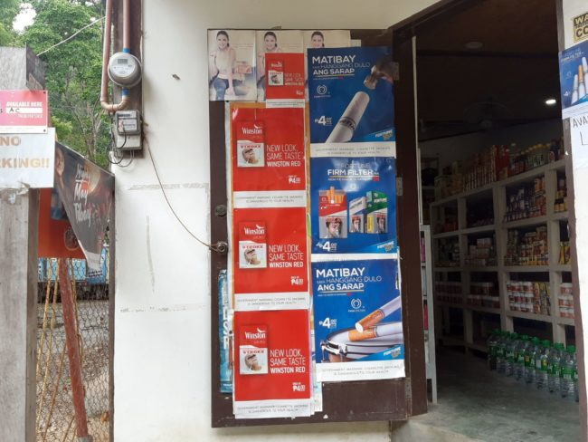 Cuánto tabaco puedo llevar a Filipinas