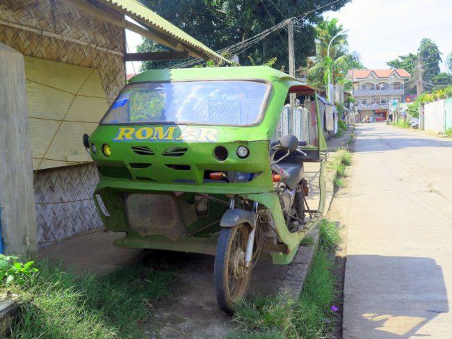 Precio de los tricicles en Filipinas