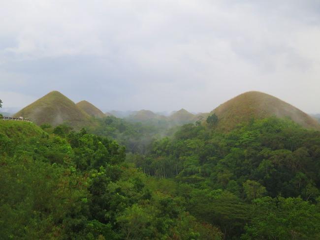 Formación geológica única en Filipinas