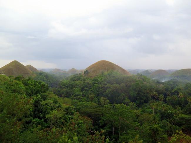 Formaciones geológicas únicas en el mundo en Filipinas