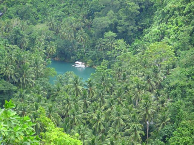 Los bellos paisajes de Bohol