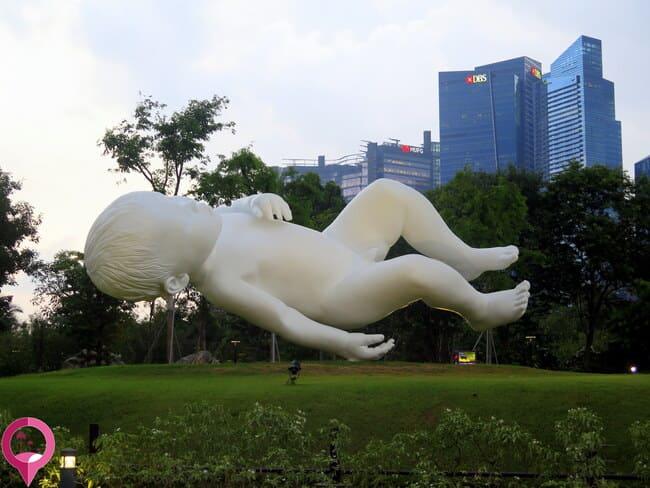 Las esculturas más grandes de Singapur