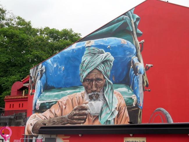 Los mejores murales de Little India