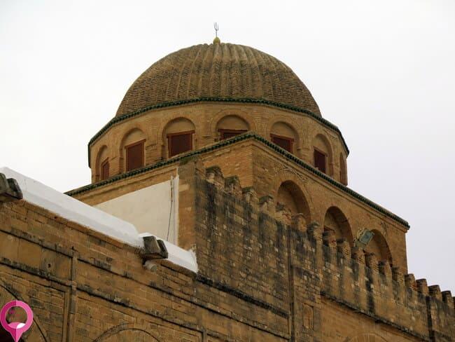 Elementos arquitectónicos de la Gran Mezquita de Kairuán