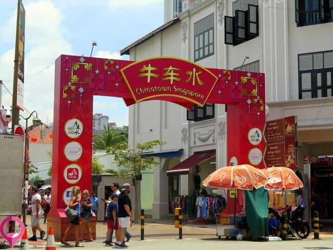 Barrios étnicos de Singapur