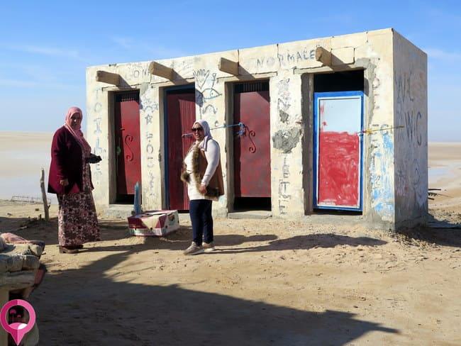 Baños Públicos en el desierto de Túnez