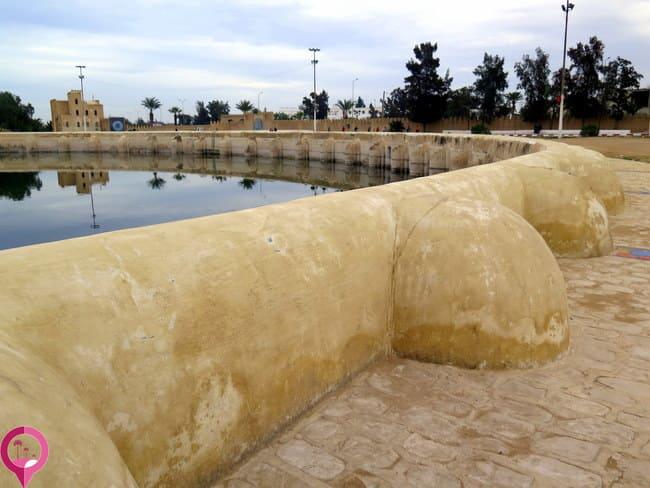 Depósitos de agua en Kairuán