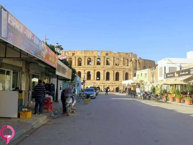 El Jem, Túnez