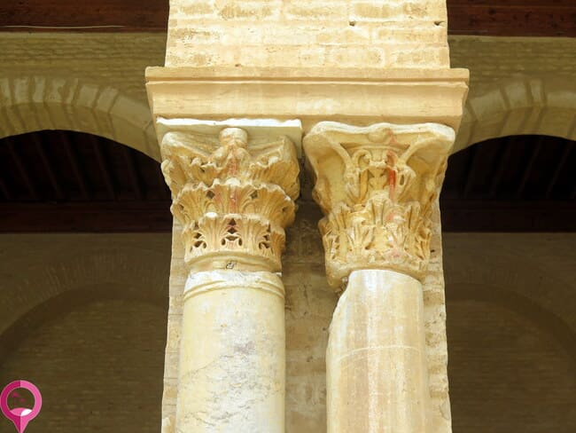 Columnas romanas en Kairuán