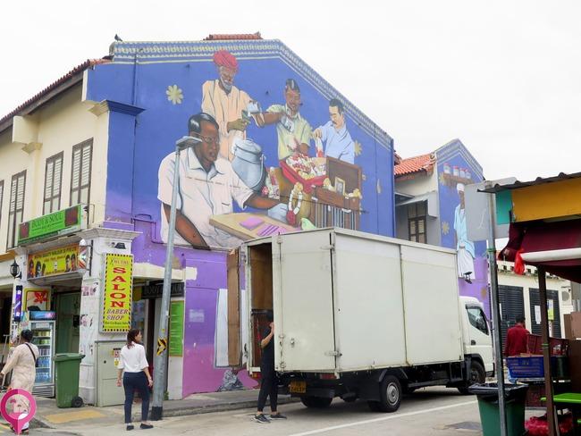 Artistas urbanos Singapur