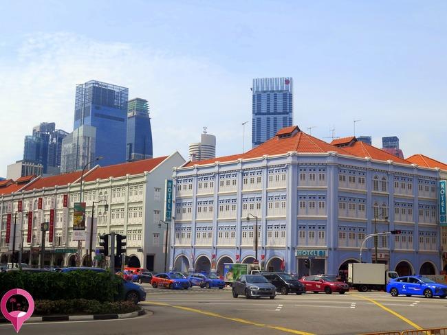 Alojamiento Singapur
