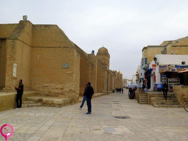 Mezquita fortificada en Kairuán