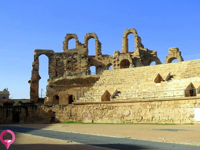 Historia Coliseo de El Djem