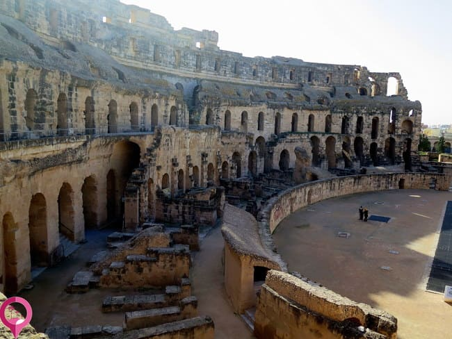 Construcciones Romanas de Túnez